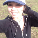 @ArielRebel  – Daily Jogging Selfie!