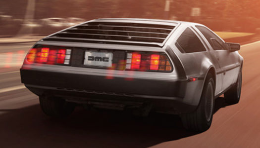 "Pre-prder your ""new"" Delorean today"