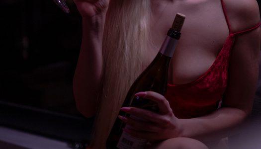 Red velvet corset